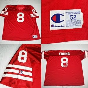 VTG Champion Young 49ers San Francisco NFL Jersey